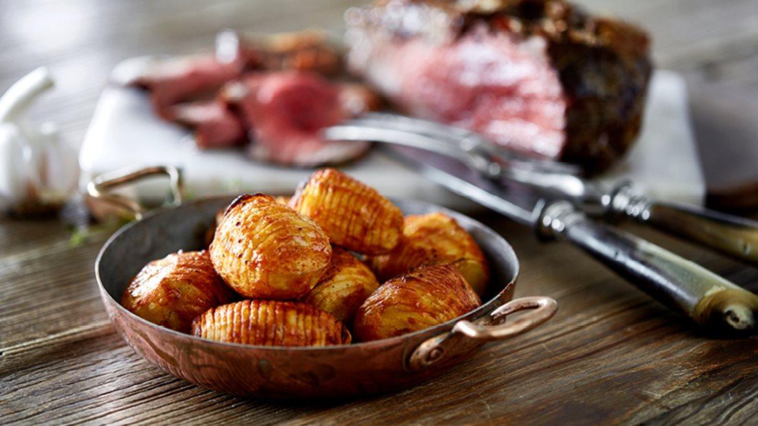 Hasselback Kartofler Opskrift Aftensmad Nemligcom