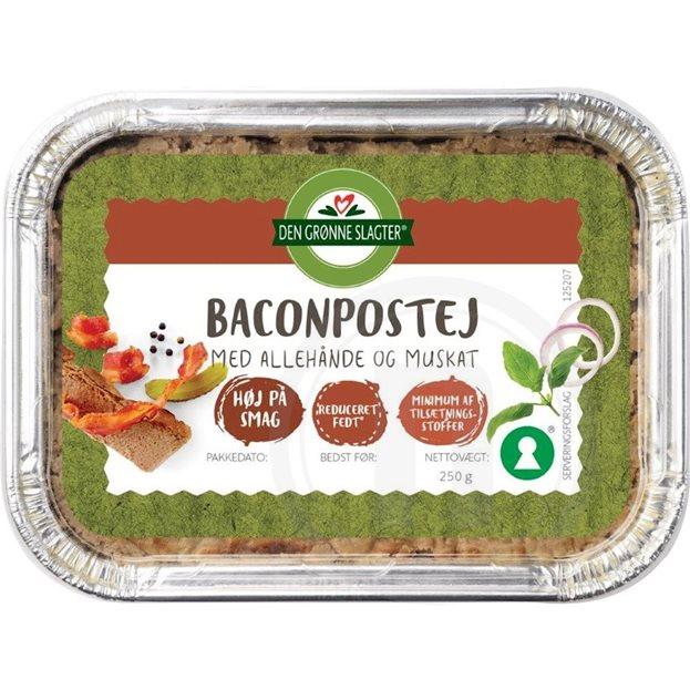 Baconleverpostej Fra Den Grønne Slagter Køb Online Hos Nemligcom