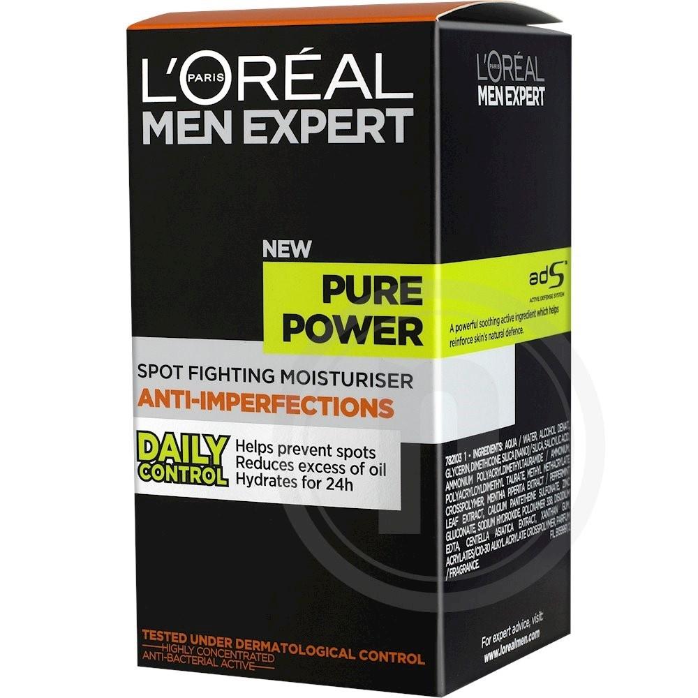 Fugtighedscreme mod uren hud fra L'Oréal Paris – køb online hos nemlig.com