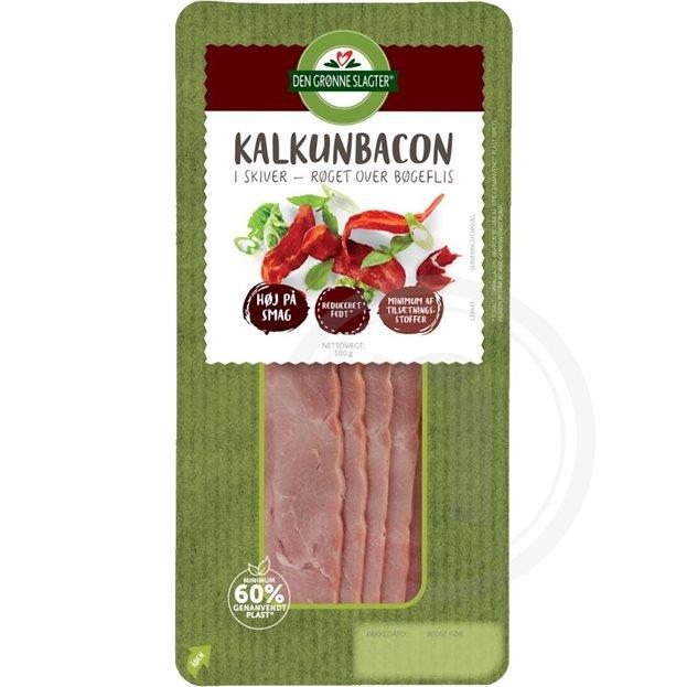 Kalkunbacon 6 Røget Fra Den Grønne Slagter Køb Online Hos
