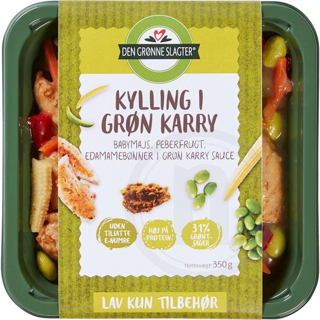 Kylling I Grøn Karry Fra Den Grønne Slagter Køb Online Hos Nemligcom