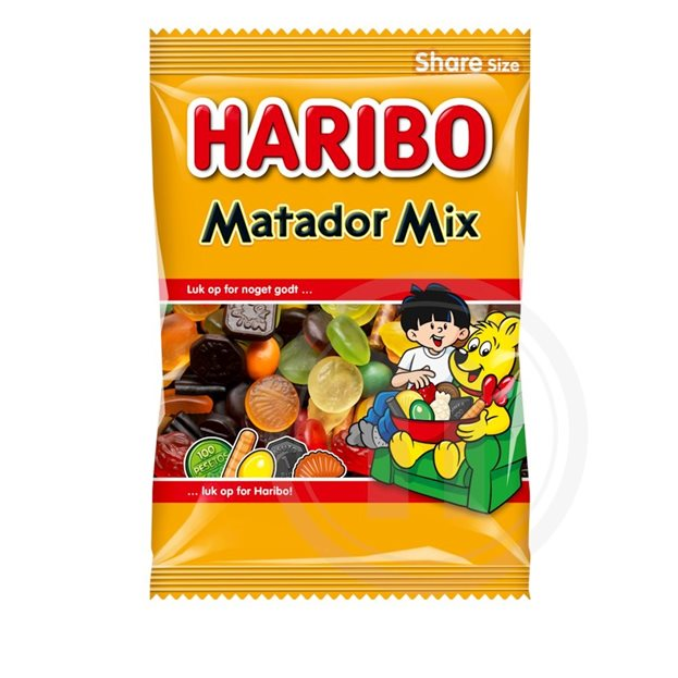 Højmoderne Matador mix fra Haribo – køb online hos nemlig.com PG-42