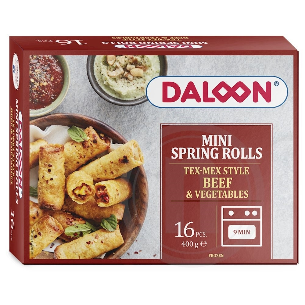 Miniruller tex mex fra Daloon – køb online hos nemlig.com