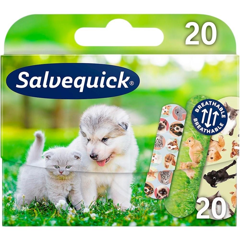 Plaster m. dyr fra Salvequick - køb online hos nemlig.com